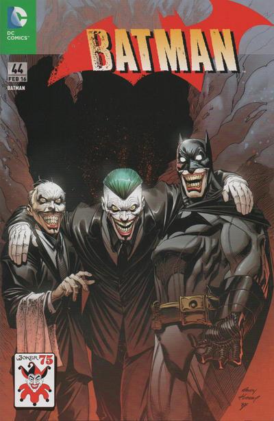 Cover for Batman (Panini Deutschland, 2012 series) #44 (109)