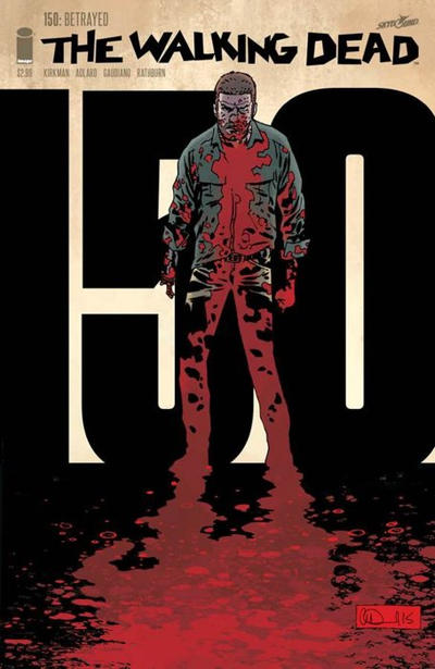Cover for The Walking Dead (Image, 2003 series) #150 [Cover C - Jason Latour]