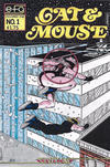 Cover for Cat & Mouse (Silverline Comics, 1989 series) #1
