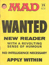 Cover for Mad (Thorpe & Porter, 1959 series) #62