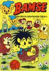 Cover for Bamse (Atlantic Forlag, 1977 series) #7/1980