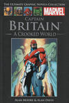Cover for The Ultimate Graphic Novels Collection (Hachette Partworks, 2011 series) #3 - Captain Britain: A Crooked World