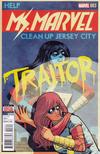 Cover for Ms. Marvel (Marvel, 2016 series) #3