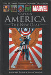 Cover for The Ultimate Graphic Novels Collection (Hachette Partworks, 2011 series) #27 - Captain America: The New Deal
