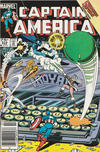 Cover for Captain America (Marvel, 1968 series) #314 [Newsstand Edition]