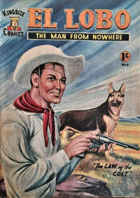 Cover Thumbnail for El Lobo The Man from Nowhere (Cleveland, 1956 series) #8