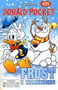 Cover Thumbnail for Donald Pocket (Hjemmet / Egmont, 1968 series) #435 - Frost i nakken!