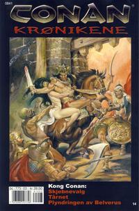 Cover Thumbnail for Conan Krønikene (Bladkompaniet / Schibsted, 2005 series) #14