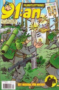 Cover Thumbnail for 91:an (Egmont, 1997 series) #7/2008