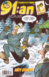 Cover Thumbnail for 91:an (Egmont, 1997 series) #3/2008