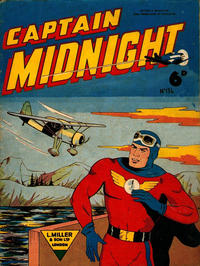 Cover Thumbnail for Captain Midnight (L. Miller & Son, 1950 series) #136