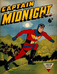 Cover Thumbnail for Captain Midnight (L. Miller & Son, 1950 series) #137