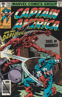 Cover Thumbnail for Captain America (Marvel, 1968 series) #234 [Direct Edition]