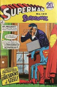 Cover Thumbnail for Superman Supacomic (K. G. Murray, 1959 series) #123