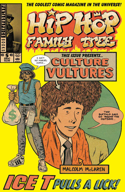 Cover for Hip Hop Family Tree (Fantagraphics, 2015 series) #5