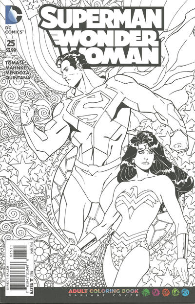 Cover for Superman / Wonder Woman (DC, 2013 series) #25
