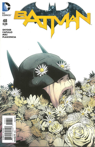 Cover for Batman (DC, 2011 series) #48 [Direct Sales]