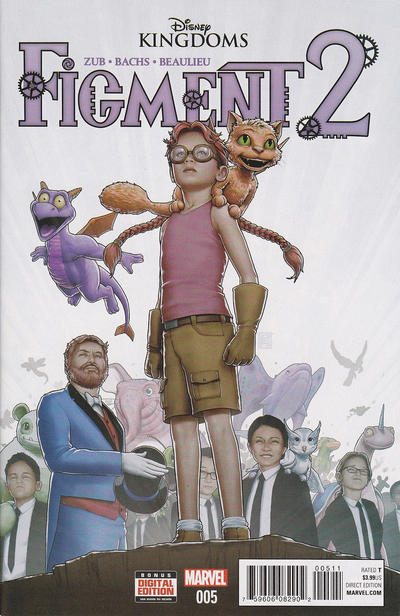 Cover for Disney Kingdoms: Figment 2 (Marvel, 2015 series) #5