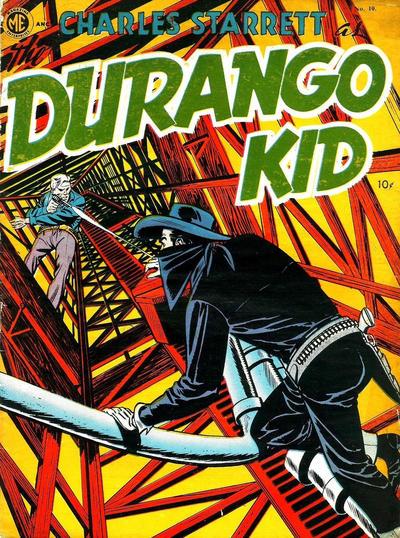 Cover for Durango Kid (Compix, 1952 series) #10