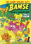 Cover for Bamse (Atlantic Forlag, 1977 series) #1/1984
