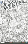 Cover for Superman (DC, 2011 series) #48 [Adult Coloring Book Variant]