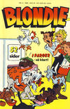 Cover for Blondie (Semic, 1980 series) #4/1985