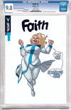Cover for Faith (Valiant Entertainment, 2016 series) #1 [Cover C - Clayton Henry]