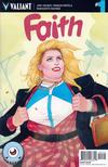 Cover for Faith (Valiant Entertainment, 2016 series) #1 [Cover J - Third Eye Comics Variant - Kevin Wada]