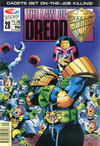 Cover for The Law of Dredd (Fleetway/Quality, 1988 series) #28