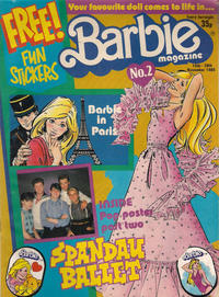 Cover Thumbnail for Barbie (Fleetway Publications, 1985 series) #2