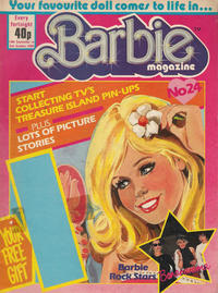 Cover Thumbnail for Barbie (Fleetway Publications, 1985 series) #24