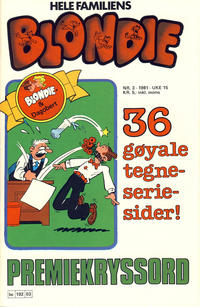 Cover Thumbnail for Blondie (Semic, 1980 series) #3/1981