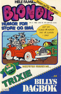 Cover Thumbnail for Blondie (Semic, 1980 series) #2/1982
