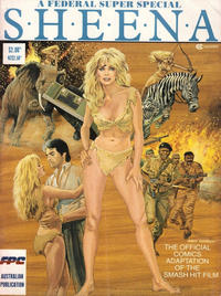 Cover Thumbnail for Sheena (Federal, 1984 series)
