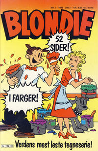 Cover Thumbnail for Blondie (Semic, 1980 series) #1/1985