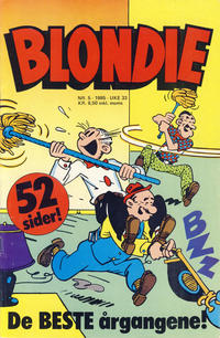 Cover Thumbnail for Blondie (Semic, 1980 series) #5/1985