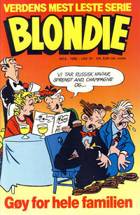 Cover Thumbnail for Blondie (Semic, 1980 series) #6/1985