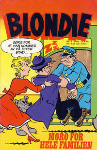 Cover Thumbnail for Blondie (Semic, 1980 series) #7/1985