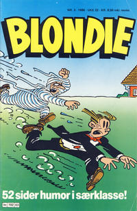 Cover Thumbnail for Blondie (Semic, 1980 series) #3/1986