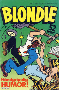 Cover Thumbnail for Blondie (Semic, 1980 series) #5/1986