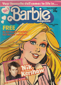 Cover Thumbnail for Barbie (Fleetway Publications, 1985 series) #3