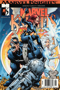 Cover Thumbnail for Marvel Knights (Marvel, 2000 series) #14 [Newsstand]