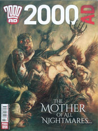 Cover Thumbnail for 2000 AD (Rebellion, 2001 series) #1898