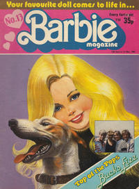 Cover Thumbnail for Barbie (Fleetway Publications, 1985 series) #13