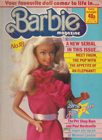 Cover Thumbnail for Barbie (Fleetway Publications, 1985 series) #18