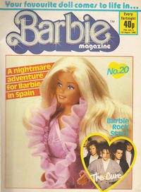 Cover Thumbnail for Barbie (Fleetway Publications, 1985 series) #20