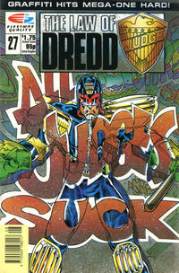 Cover Thumbnail for The Law of Dredd (Fleetway/Quality, 1988 series) #27