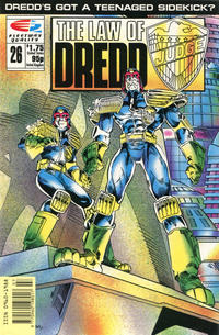 Cover Thumbnail for The Law of Dredd (Fleetway/Quality, 1988 series) #26