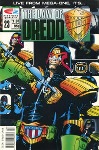 Cover Thumbnail for The Law of Dredd (Fleetway/Quality, 1988 series) #23