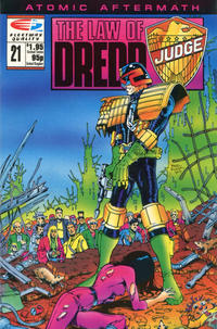Cover Thumbnail for The Law of Dredd (Fleetway/Quality, 1988 series) #21